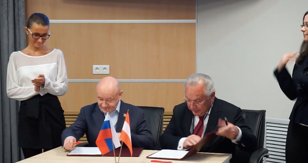 Paul Bruck signs partnership agreement with TTPM and Christof RU